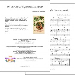 On Christmas night (Sussex Carol) - Accordion