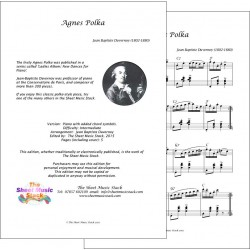 Agnes Polka - Duvernoy - Piano