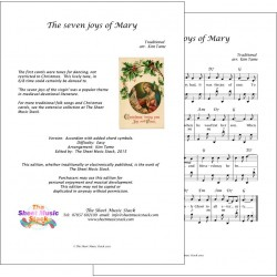 The Seven Joys of Mary - Accordion