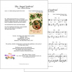 The angel Gabriel (Gabriel's message) - traditional - Accordion
