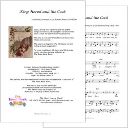 King Herod and the Cock - Piano