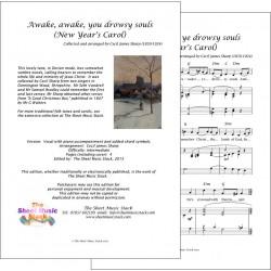 New Year Carol (Awake, awake) - Piano