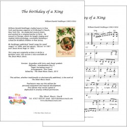 Birthday of a King in F - Accordion