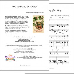 Birthday of a King in F - Piano