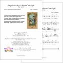 Angels we have heard on high - Lead sheet