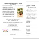 Angels from the realms of glory (Kensington New) - Lead sheet