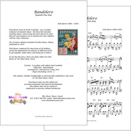 Bandolero - Felix Burns - Accordion