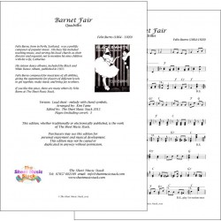 Barnet Fair - Felix Burns - Lead sheet