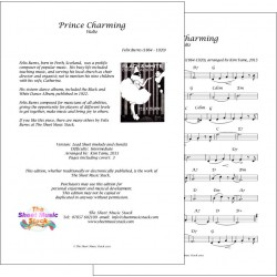 Prince Charming - Felix Burns - Lead Sheet