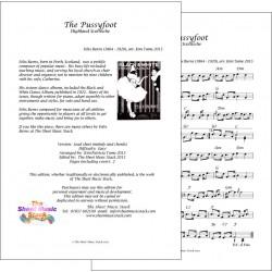 The Pussyfoot - Felix - Burns - Lead sheet
