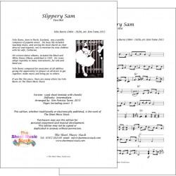 Slippery Sam - Felix Burns - Lead Sheet