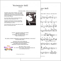 Westminster Bells - Felix Burns - lead sheet