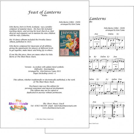 Feast of lanterns - Felix Burns - Accordion