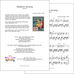 Modern Society - Felix Burns - Piano