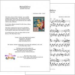 Bandolero - Felix Burns - Piano