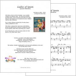 Ladies of Spain - Felix Burns - Piano