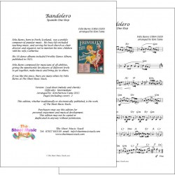 Bandolero - Felix Burns - Lead Sheet