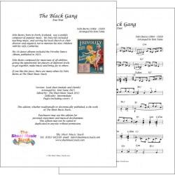 The Black Gang - Felix Burns - Lead Sheet