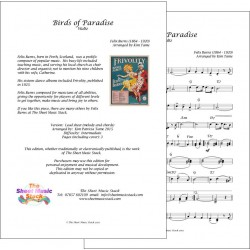 Birds of Paradise - Felix Burns - Lead Sheet