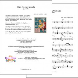 Cooptimists - Felix Burns - Lead Sheet