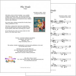 The Dodo - Felix Burns - Lead Sheet