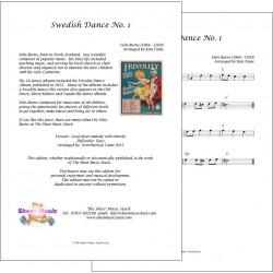 Swedish Dance no. 1 - Felix Burns - Lead Sheet