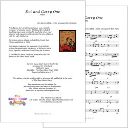 Dot and Carry One - Felix Burns - lead sheet
