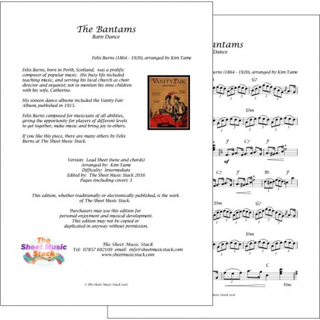 Bantams (The) - Felix Burns - lead sheet