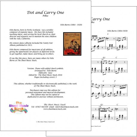 Dot and Carry One - Felix Burns - Piano