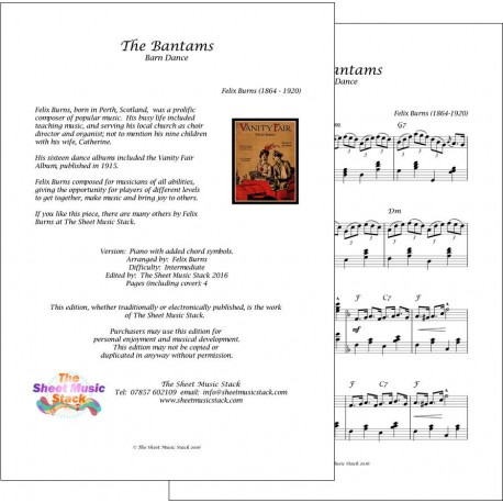 Bantams (The) - Felix Burns - Piano