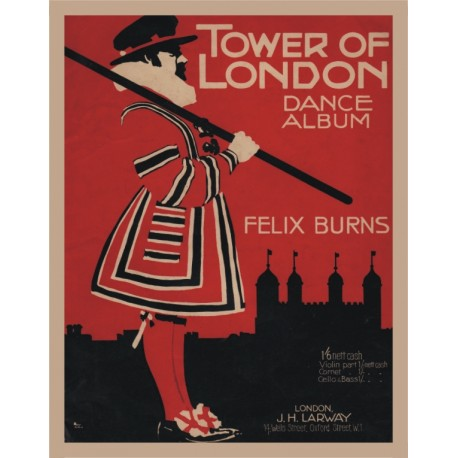 "Felix Burns' ""Tower of London"" Dance Album - Accordion"