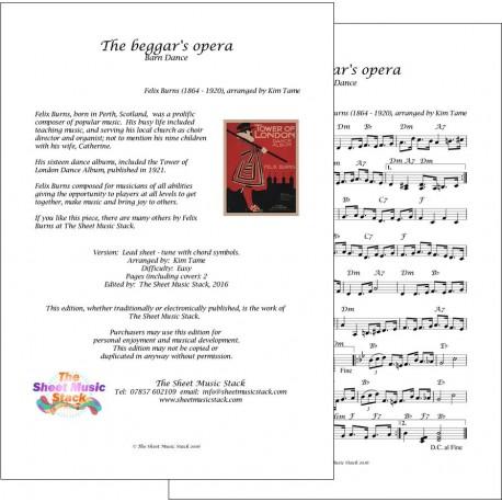 Beggar's Opera - Felix Burns - Lead sheet