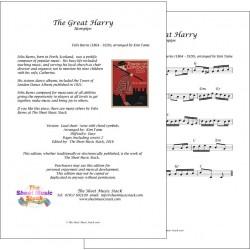 The Great Harry - Felix Burns - Lead sheet