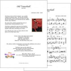 Old Vauxhall - Felix Burns - Piano