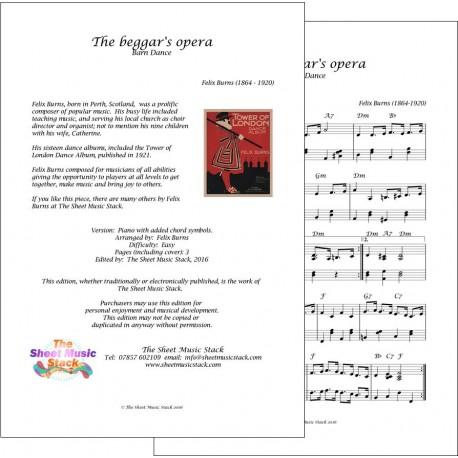 Beggar's Opera - Felix Burns - Piano