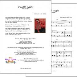 Twelfth Night - Felix Burns - Piano
