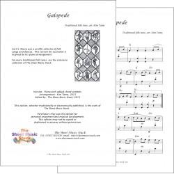 Galopede - Piano