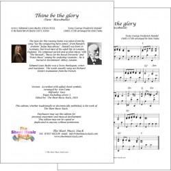 Thine be the glory - Accordion