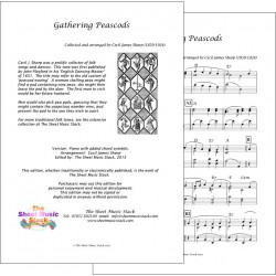 Gathering peascods - Piano