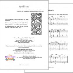 Goddesses - piano