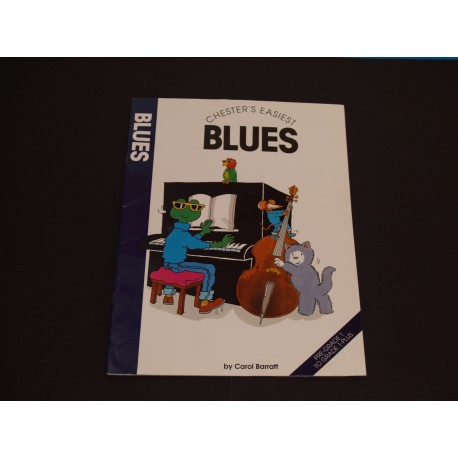 Chester's Easiest Blues, Carol Barratt, Piano Grade 1