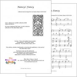 Nancy's Fancy - Piano