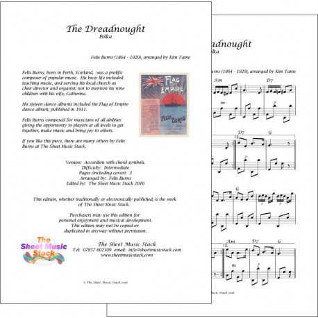 Dreadnought polka - Felix Burns - Accordion