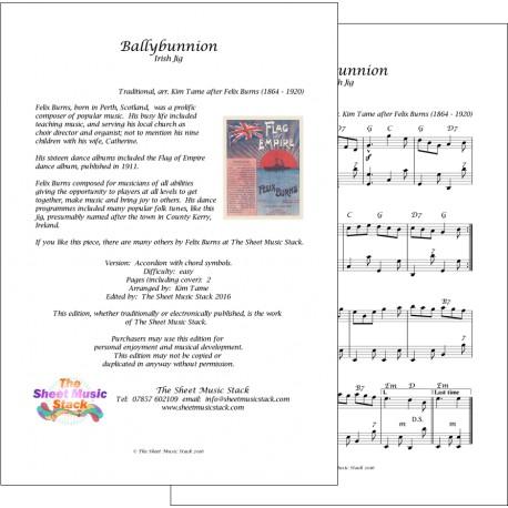 Ballybunnion jig - Felix Burns - Accordion