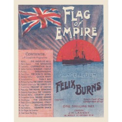 Felix Burns' Flag of Empire Dance Album - Lead Sheets