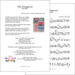 The Kangaroo - Felix Burns - Lead sheet