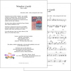 Windsor Castle - Felix Burns - Lead Sheet