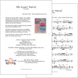 The Scouts' Patrol - Felix Burns - Lead sheet
