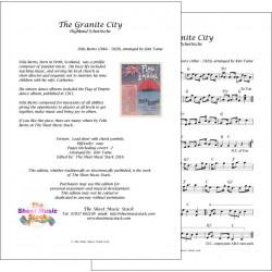 The Granite City - Felix Burns - lead sheet