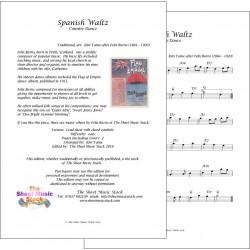 Spanish Waltz - Felix Burns - lead sheet